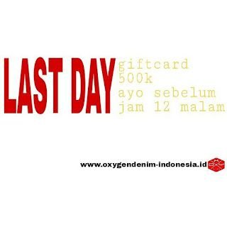 OXYgen Denim Indonesia: LAST DAY !!!!!