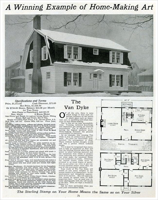 46 best Vintage House Plans images on Pinterest | Vintage houses ...