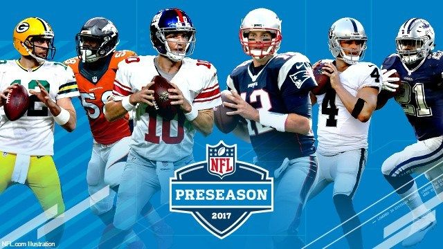 2017 NFL Preseason Schedule