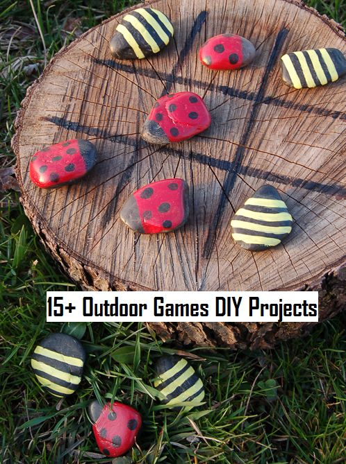 15+ Outdoor Games DIY Projects