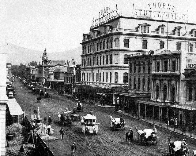 Adderley Street in 1894 | Flickr - Photo Sharing!