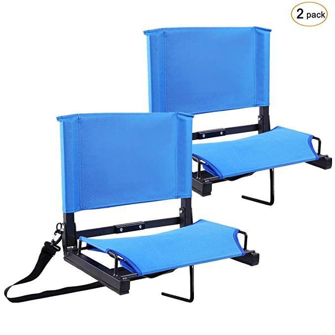 Amazon Com Stadium Seats Stadium Chairs Bleacher Seats By Ohuhu