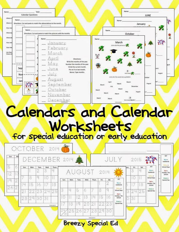 Calendar Worksheet Generator : Best ideas about calendar worksheets on pinterest