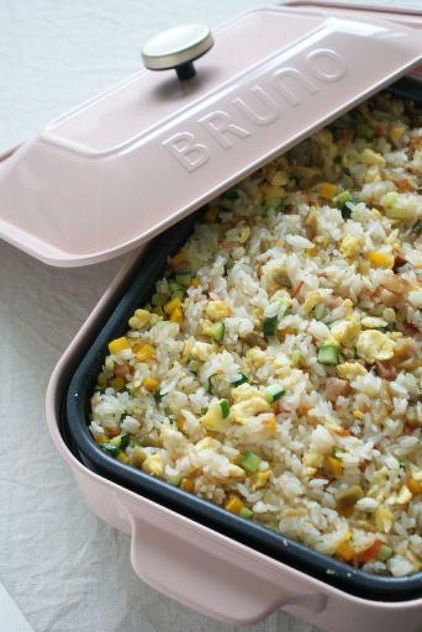 ホットプレートで夏野菜のチャーハン by もりもん   レシピサイト ...