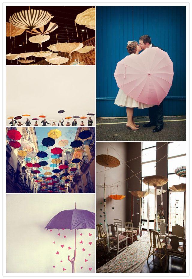 ideas paraguas boda