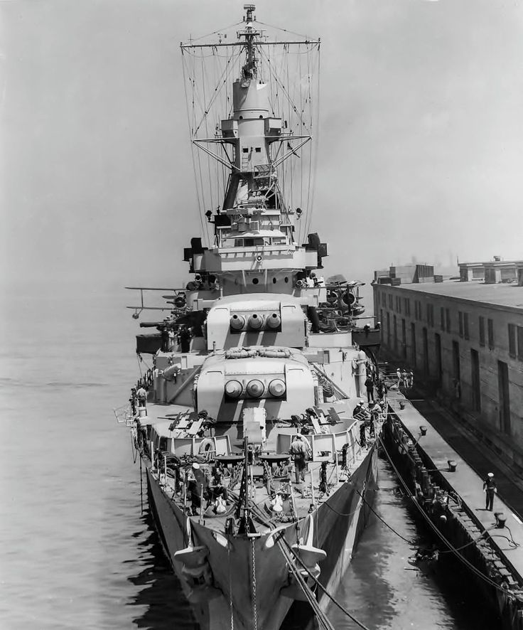 JC's Navy, Marine, & Military News — USS Indianapolis 1944 USS Indianapolis (CL/CA-35)...