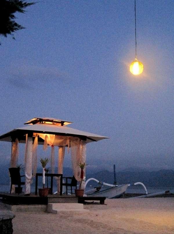 Romantic Night @ @ Gili Trawangan, Lombok, Indonesia