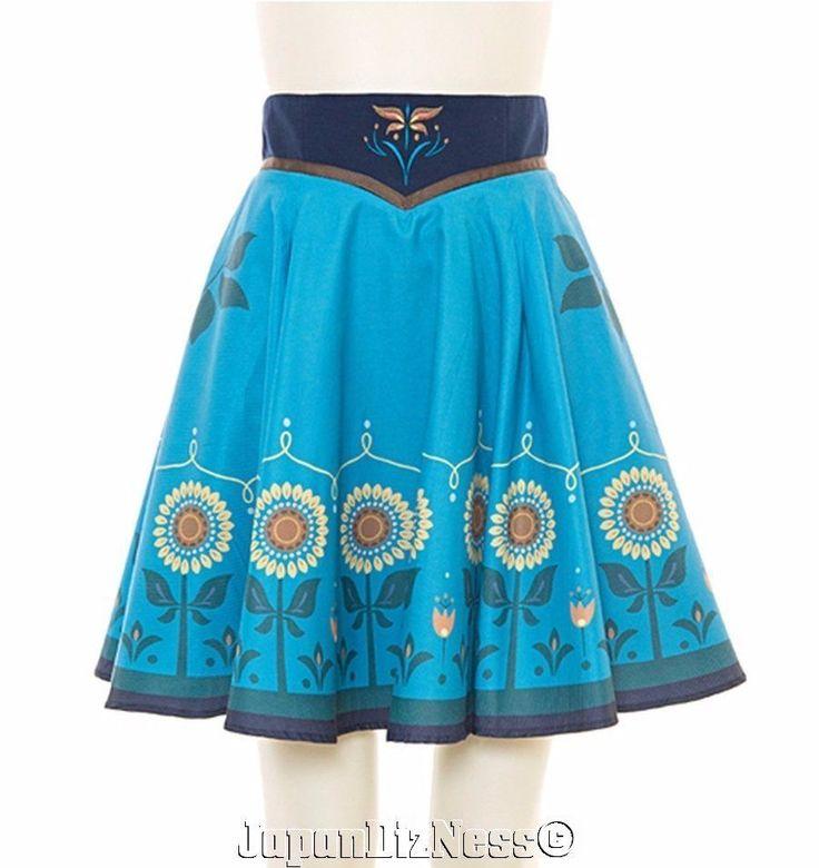 New Secret Honey Disney Anna from Frozen Short Sunflower Skirt in Collectibles, Disneyana, Contemporary (1968-Now) | eBay