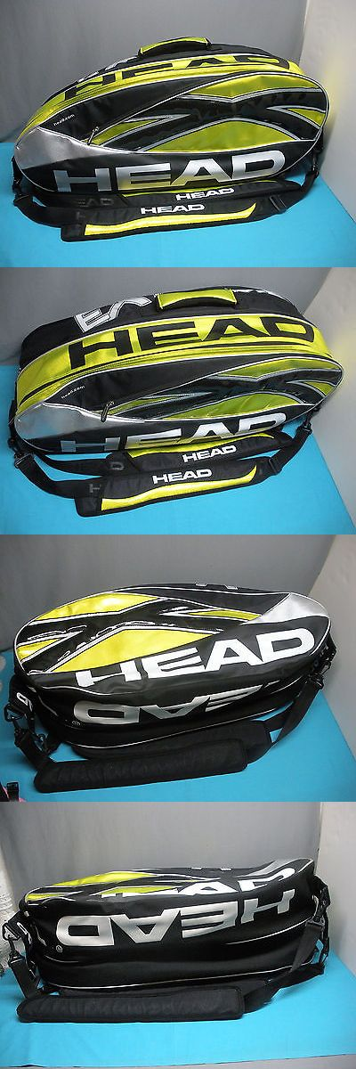 Bags 20869: New Head Extreme Combi (6-Pack) Tennis Racquet Travel Bag BUY IT NOW ONLY: $55.0