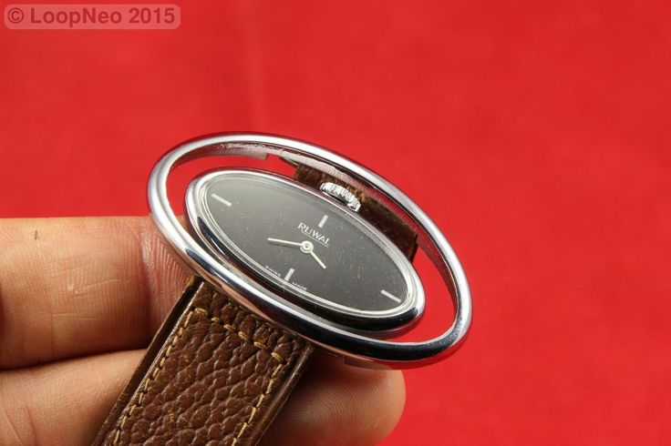 http://r.ebay.com/n92lpC Reloj de pulsera a base de cuerda - Ruwal watch  vía @eBay #PetitsEncants #ebay #Brocanter #wristwatch #PetitsEncantsBCN #Oddities #Antiques #clock #watch