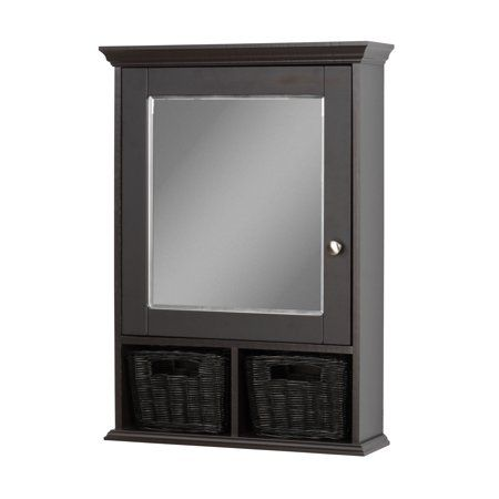Home Improvement Wood Medicine Cabinets Wicker Baskets Wicker