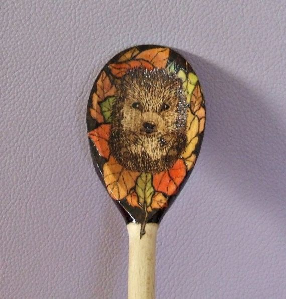 wooden spoon kitchen cooking utensil by ABurningAmbition on Etsy