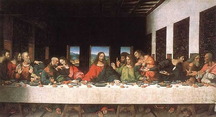 The Last Supper - Top 10 Most Famous Paintings of all Time http://www.traveloompa.com/top-10-most-famous-paintings-of-all-time/