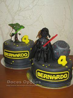 Doces Opções: Bolo de aniversário Star Wars