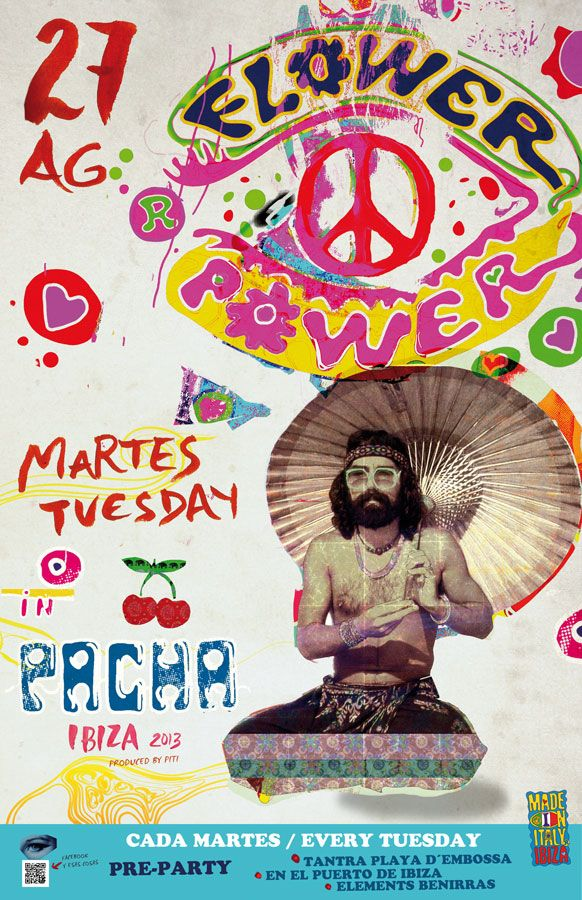 FLOWER POWER 27 AUGUST | Pacha Ibiza