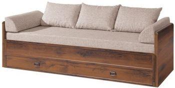 Кровать раздвижная BRW Индиана с матрасом+подушки