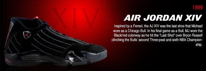 History of Air Jordan 14 #Airjordan14