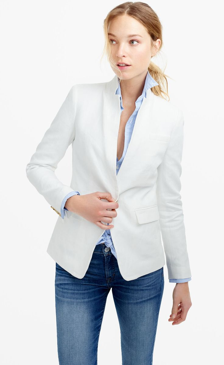 Best 25+ Linen blazer ideas on Pinterest
