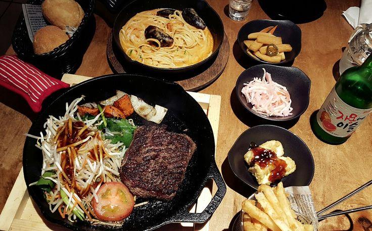 Beff Pan Steak - Korean Food