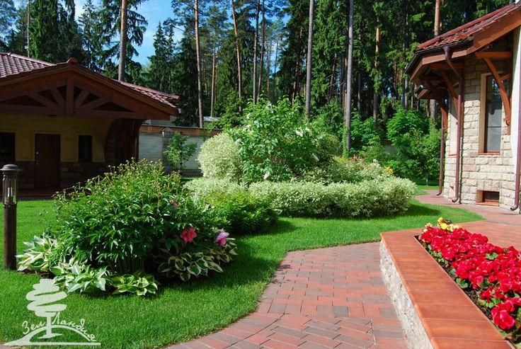 Дачного участка ландшафтный дизайн озеленение