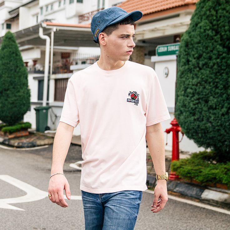 Aliexpress.com: Comprar VIISHOW Hombres de la Marca de Algodón de Manga Corta Camisetas de Los Hombres de Verano de Color Rosa Sólido Camisas de Hombre Casual Tops de men summer fiable proveedores en VIISHOW Official Store