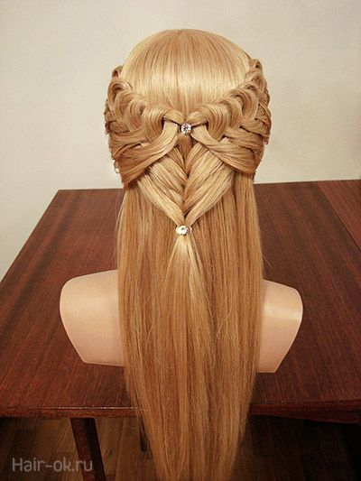 Knotted rubber band braid