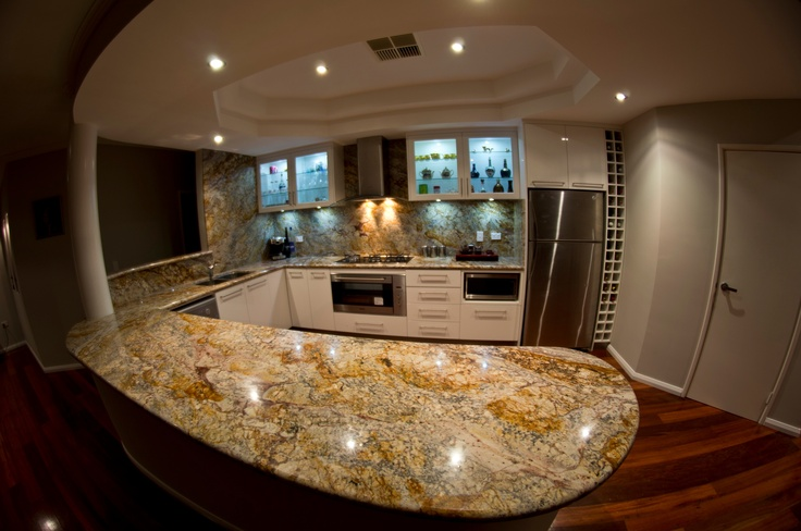 23 Best Images About Exotic Granite Kitchens On Pinterest