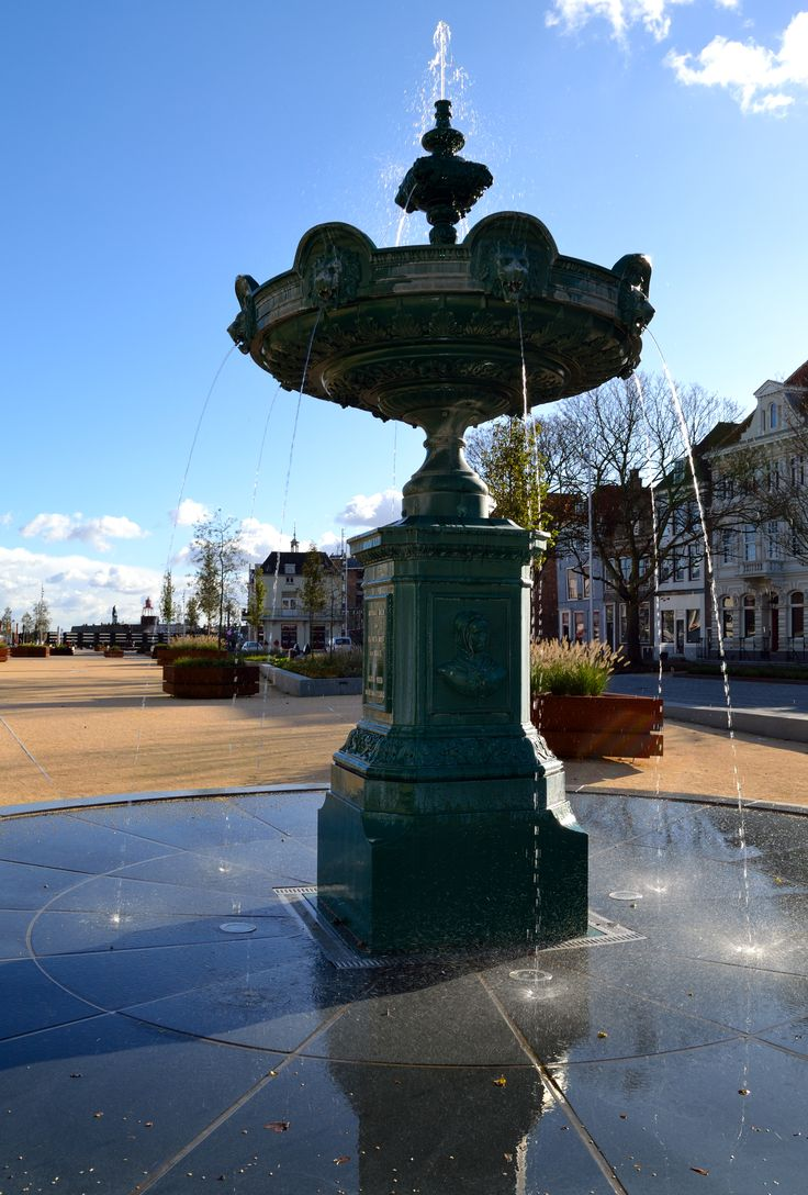 Fountain Vlissingen #Photography
