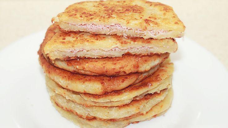 Cырные лепешки за 15 минут - Вкусно и быстро / Cheese Flatbread Recipe