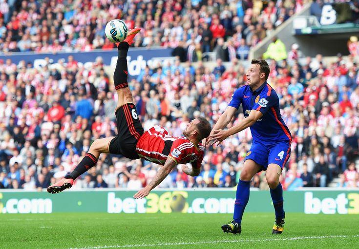 Phil Jones - Sunderland v Manchester United 24th August 2014 #MUFC #EPL