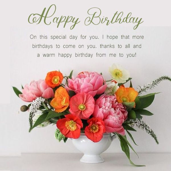 Pin On Wishes For Birthday