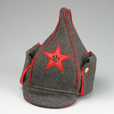 """ee9dd63a37d Soviet Cavalry Hat – replica of unique Bolshevik headgear """"Budyonovka"""". It  is named after commander of First Red Cavalry Arm…"""