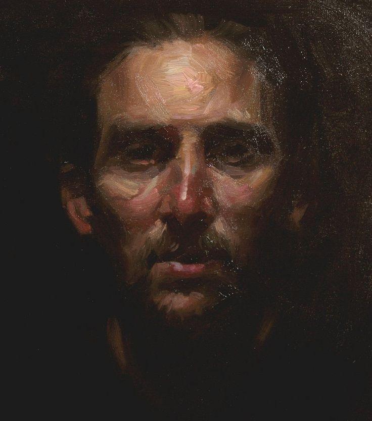 Paulo Frade (alla prima painting)
