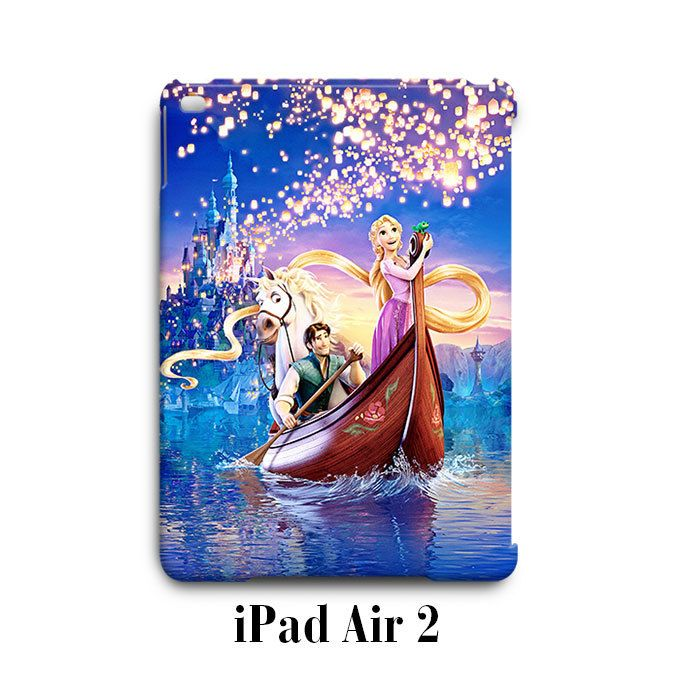 Tangled Rapunzel Flynn iPad Air 2 Case Cover Wrap Around