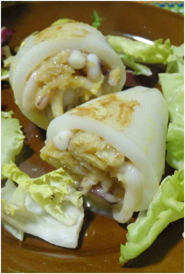Calamari ripieni alla piastra ! #calamari #ripieni #piastra #ricettegustose