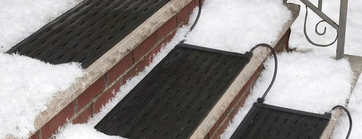 Best Heattrak Snow And Ice Melting Heated Stair Treads Snow 400 x 300
