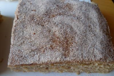 Das Backen des Patissiers: Snickerdoodle-Kuchen