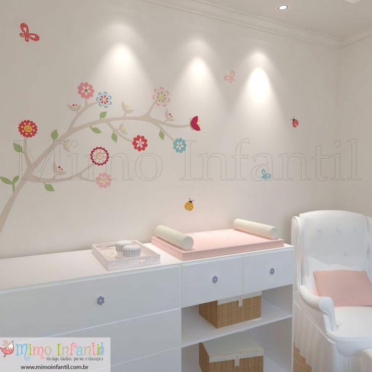 Peste 1000 de idei despre Adesivos De Parede Infantil pe  ~ Adesivos De Parede Para Quarto De Bebe Recife