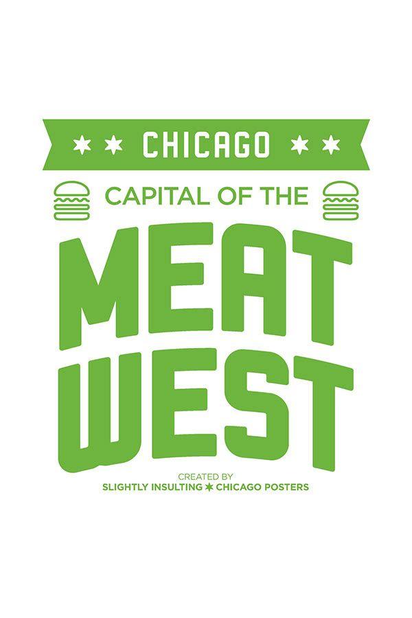 Shake Shack Chicago On Behance Fast Food Chicago