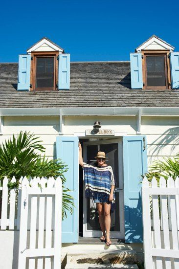 Beach House Makeover, cottage style. Harbour Island, Bahamas. Coastalliving.com