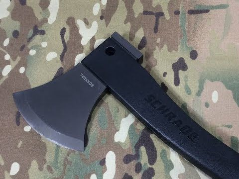 Schrade SCAXE2L: Camping & Wilderness Survival Axe http://rethinksurvival.com/posts/schrade-scaxe2l-camping-wilderness-survival-axe-video/