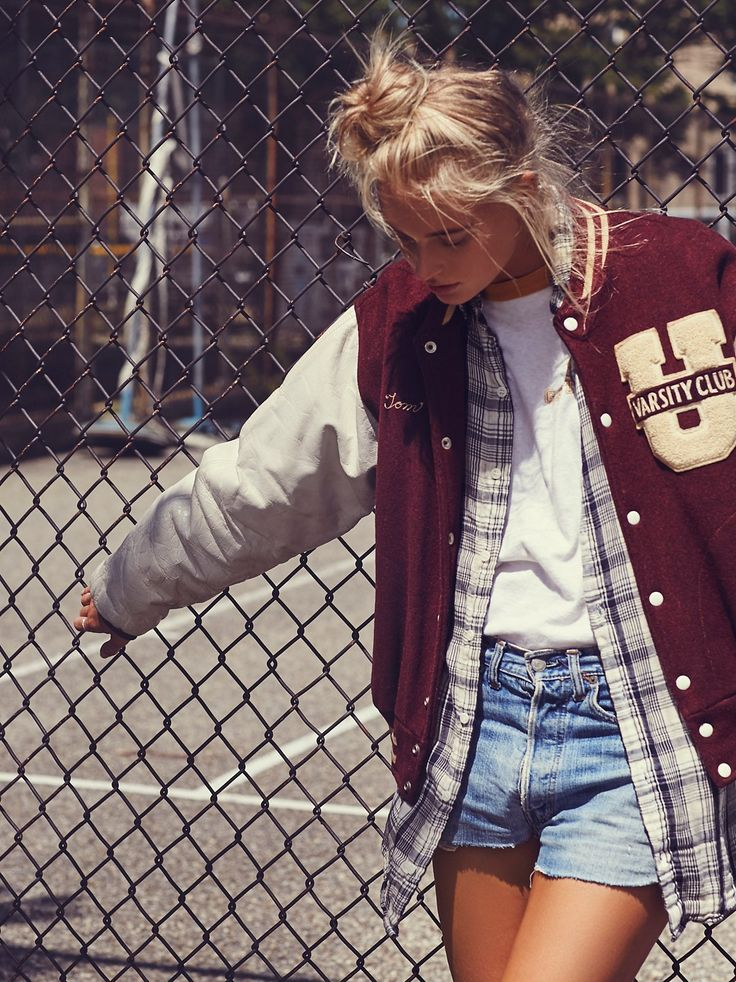 Vintage 1960s Letterman Jacket | Vintage '60s maroon, white and tan wool…