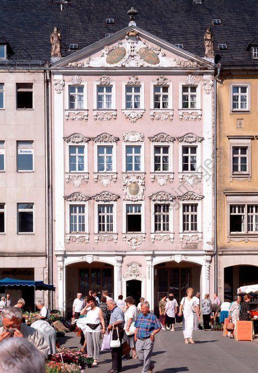 Chemnitz (Sachsen), Siegertsches Haus, Markt 20 (erbaut 1737–41; Architekt: Johann Christoph Naumann). #rococo