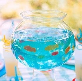 Something Like Glamour: Jello Fish Bowl!