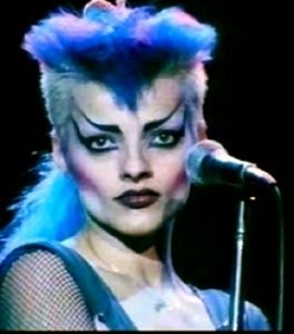 NINA HAGEN is a German singer/performance artist who became popular in the early 80's. Radio played songs include 'New York New York' (83) and 'Universal Radio' (85). 'Universal Radio (live)' video: http://youtu.be/RbQ_VOGy3Rk