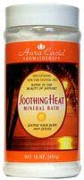 Soothing Heat Aromatherapy Mineral Bath 16 oz Jar ( Multi-Pack) by Aura Cacia. $28.67. Quantity: MULTI VALUE PACK! You are buying Description: MINERAL BATH,SOOTH HEAT Unit Size: 16 OZ Brand: AURA CACIA. TRIPLE VALUE PACK! You are buying THREE of Soothing Heat Aromatherapy Mineral Bath 16 oz Jar. Contains balsam fir needle, lemon, eucalyptus, juniper berry and myrtle which soothes achy muscles.. TRIPLE VALUE PACK of Soothing Heat Aromatherapy Mineral Bath 16 oz Jar - Soot...