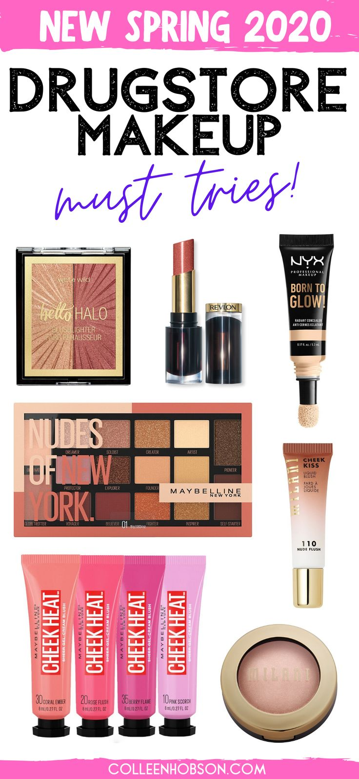 New Drugstore Makeup To Get Excited About Spring 2020