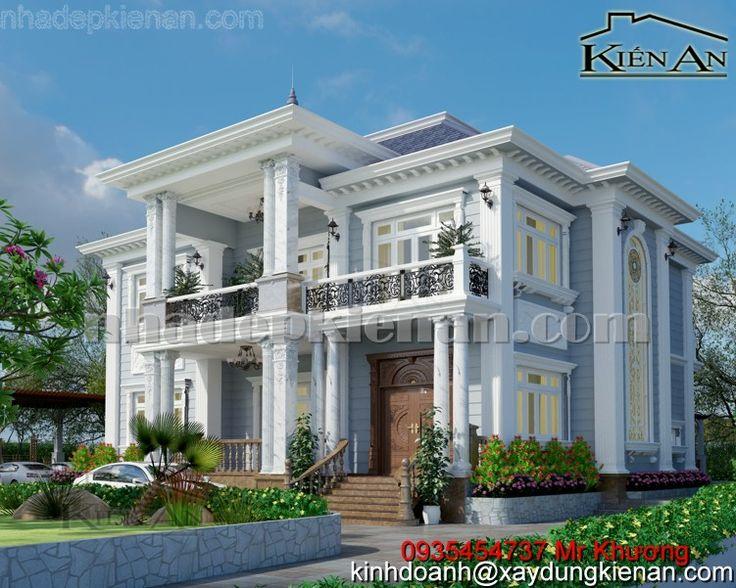 Thiết kế biệt thự vườn cổ điển tại Long An