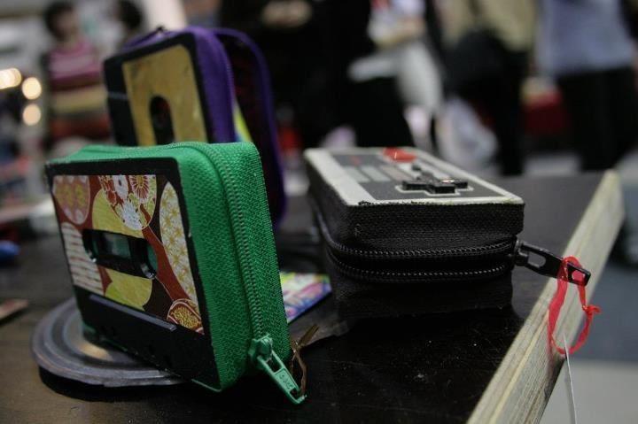 #DIY #cassette #tape #retro #Welukontu Pic by Veera Niemi  http://www.facebook.com/Welukontu