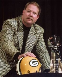 Mike Holmgren, Packer head coach from 1992 through 1998. The Packers went to two Super Bowls (1997 and 1998) during that time (mike holmgren - Google Search).